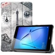Δερμάτινη Θήκη Βιβλίο Tri-Fold με Βάση Στήριξης για Huawei MatePad T8 - Πύργος του Άιφελ