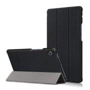 Δερμάτινη Θήκη Βιβλίο Tri-Fold με Βάση Στήριξης για Huawei MatePad T8 - Μαύρο