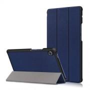 Δερμάτινη Θήκη Βιβλίο Tri-Fold με Βάση Στήριξης για Huawei MatePad T8 - Σκούρο Μπλε