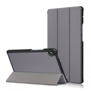 Δερμάτινη Θήκη Βιβλίο Tri-Fold με Βάση Στήριξης για Huawei MatePad T8 - Γκρι