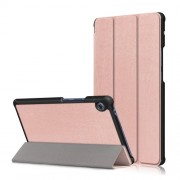Δερμάτινη Θήκη Βιβλίο Tri-Fold με Βάση Στήριξης για Huawei MatePad T8 - Ροζέ Χρυσαφί