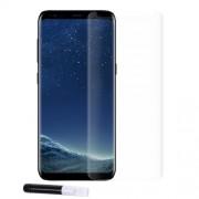 RURIHAI 3D Σκληρυμένο Γυαλί (Tempered Glass) Προστασίας Οθόνης με Υγρή Κόλλα και Λάμπα UV Πλήρης Κάλυψης για Samsung Galaxy S8