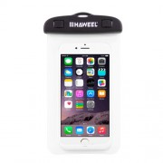HAWEEL HWL-7002 Αδιάβροχη Θή Πουγκί για Smartphones με Διαστάσεις 21 x 11.5 x 1.2cm - Λευκό