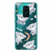 Θήκη Σιλικόνης TPU για Xiaomi Redmi Note 9 / Redmi 10X 4G - Χαριτωμένα Κοάλα