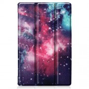 Δερμάτινη Θήκη Βιβλίο Tri-Fold με Βάση Στήριξης για Lenovo Tab M10 FHD Plus X606F 10.3 ίντσες - Γαλαξίες