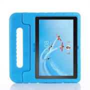 Drop-proof Kids Safe EVA Foam Case with Kickstand for Lenovo Tab P10 / Tab M10 TB-X605F - Blue