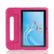 Drop-proof Kids Safe EVA Foam Case with Kickstand for Lenovo Tab P10 / Tab M10 TB-X605F - Rose
