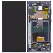 Original Samsung LCD + Digitizer Touch Screen for Samsung Galaxy Note 10 SM-N970F - Black (GH82-20818A)
