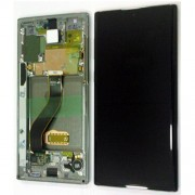 Original Samsung LCD + Digitizer Touch Screen for Samsung Galaxy Note 10 SM-N970F - Silver (GH82-20818)