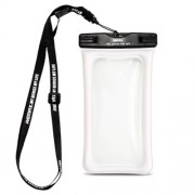 REMAX Diving Pouch  Universal 20M Waterproof Bag for iPhone Huawei Samsung Etc - White