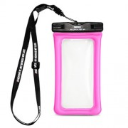 REMAX Universal 20M Waterproof Bag Diving Pouch for iPhone Huawei Samsung Etc - Rose