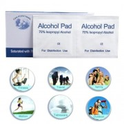100pcs/box Disinfectant Wipes Outdoor Appliances Cleaning Sterilization Alcohol Cotton Sheets
