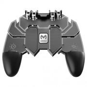 AK66 MEMO Mobile Phone Game Handle for PUBG Four-finger Artifact Mobile Controller Game Gamepad L1 R1 Trigger