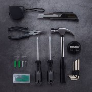 XIAOMI YOUPIN JIUXUN 12 in 1 Tool Kit Household Hand Tool with Screwdriver Wrench Hammer Toolbox