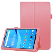 For Lenovo Tab M8/Tab M8 (2nd Gen) Litchi Texture Leather Case Tablet Cover - Pink