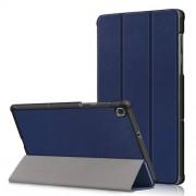 Δερμάτινη Θήκη Βιβλίο Tri-Fold με Βάση Στήριξης για Lenovo Tab M10 FHD Plus X606F 10.3 ίντσες - Μπλε