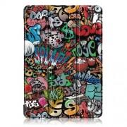 Δερμάτινη Θήκη Βιβλίο Tri-Fold με Βάση Στήριξης για Lenovo Tab P10 TB-X705F - Γκράφιτι