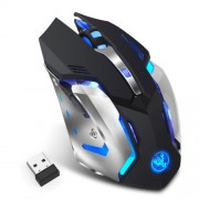 M10 Wireless Gaming Mouse 2400dpi Rechargeable 7 Color Backlight Breathing Comfort Gamer Mice