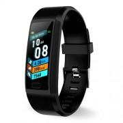 LEMONDA SMART SNY18 Αδιάβροχο Ρολόι Fitness Tracker Bracelet με 1.14 ίντσες Οθόνη - Μαύρο