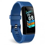 LEMONDA SMART SNY18 Αδιάβροχο Ρολόι Fitness Tracker Bracelet με 1.14 ίντσες Οθόνη - Μπλε