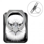 Animal Head Series Metal Ring Holder 360 Degree Rotation Stand - Eagle