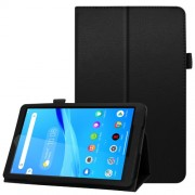 For Lenovo Tab M8/Tab M8 (2nd Gen) Litchi Texture Leather Case Tablet Cover - Black