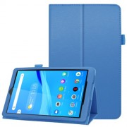 For Lenovo Tab M8/Tab M8 (2nd Gen) Litchi Texture Leather Case Tablet Cover - Baby Blue