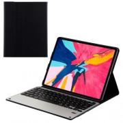 For iPad Pro 12.9-inch (2018) Wireless Bluetooth Keyboard Slim Leather Case