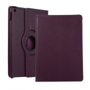 Litchi Texture Leather Stand Tablet Case for Apple iPad 10.2 (2019) - Purple