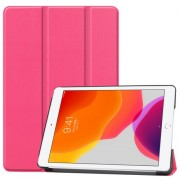 Tri-fold Stand Leather Smart Case for iPad 10.2 (2019) - Rose