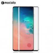 MOCOLO 3D Full Screen Curved Tempered Glass Screen Protector (Fingerprint Unlock) for Samsung Galaxy S10 Plus