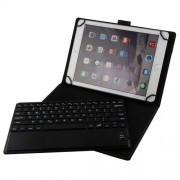 2 in 1 Bluetooth Keyboard with Touchpad Universal PU Leather Stand Case for 9.7-10.1 inch Tablet TY-3310