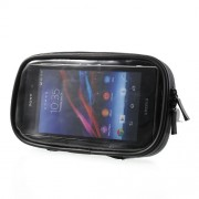 360 Degree Rotation Motorcycle Rearview Mirror Mount w/ Waterproof Phone Case, Size: 16.5 x 9cm