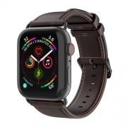 DUX DUCIS Δερμάτινο Λουράκι (Γνήσιο Δέρμα) για Apple Watch Series 5 4 40mm / Series 3 2 1 38mm - Καφέ
