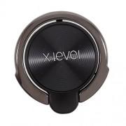 X-LEVEL Δαχτυλίδι Μεταφοράς και Στήριξης για όλα τα Smarphones - Μαύρο