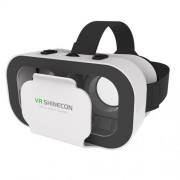 SHINECON 5 Generation 3D VR Virtual Reality Glasses Box 3D Glasses for 4.7 - 5.5 inch Phones