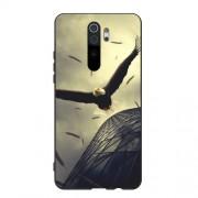 Θήκη Σιλικόνης TPU για Xiaomi Redmi Note 8 Pro - Γκρι Αετός
