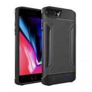 Θήκη με Ενσωμετωμένο Power Bank 5000mAh για iPhone 8 Plus / 7 Plus / 6 Plus / 6s Plus - Μαύρο