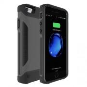 Θήκη με Ενσωμετωμένο Power Bank 4000mAh για iPhone 8 / 7  / 6  / 6s - Μαύρο