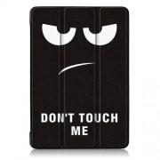Δερμάτινη Θήκη Βιβλίο Tri-Fold με Βάση Στήριξης για Lenovo Tab P10 TB-X705F - Do Not Touch Me