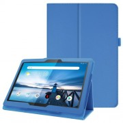 For Lenovo Tab P10 10.1-inch Litchi Texture Leather Stand Protection Case - Baby Blue