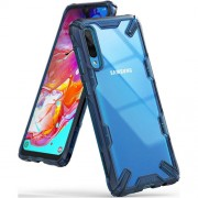 Ringke Fusion-X Samsung Galaxy A70 Space Blue