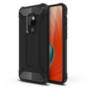 Armor Guard Plastic + TPU Hybrid Phone Case for Huawei Mate 20 - Black