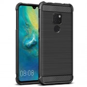 IMAK Vega Series Carbon Fiber Air Bag Cover Brushed TPU Phone Casing for Huawei Mate 20