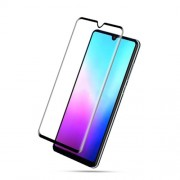 MOCOLO Silk Print Arc Edge Full Coverage Tempered Glass Screen Protector for Huawei Mate 20 - Black
