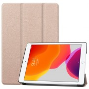 Tri-fold Stand Leather Smart Case for iPad 10.2 (2019) - Gold