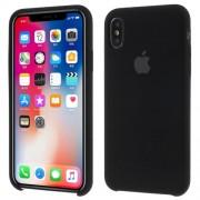 Θήκη Σιλικόνης Ενισχυμένη για iPhone X / XS - Μαύρο