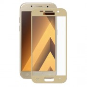 HAT PRINCE for Samsung Galaxy A5 (2017) SM-A520F 2.5D Full Screen Tempered Glass Protective Film 0.26mm - Gold