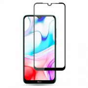 AMORUS Full Glue Full Screen Silk Printing Tempered Glass Film for Xiaomi Redmi 8A/Mi 8 (6.21-inch)