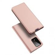 DUX DUCIS Skin Pro Series Θήκη Πορτοφόλι με Βάση Στήριξης για Samsung Galaxy S20 Ultra - Ροζέ Χρυσαφί
